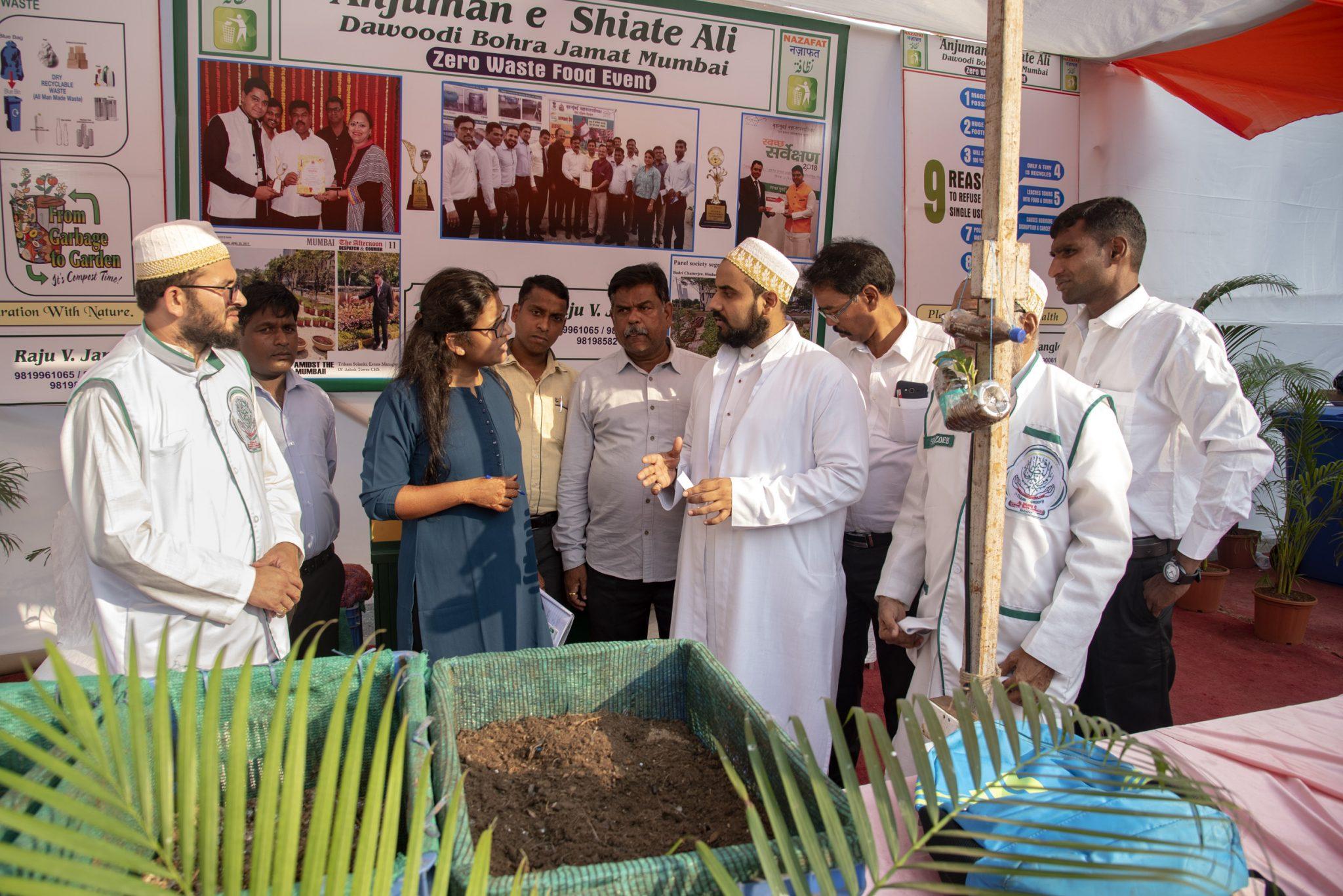 Mumbai, Zero Waste, Plastic Pollution, Turning the Tide, Plastic Pollution, Syedna Mohammed Burhanuddin, Syedna Mufaddal Saifuddin, Dawoodi Bohras