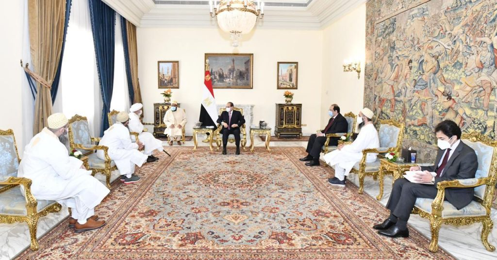 Syedna Meets with President Al-Sisi of Egypt