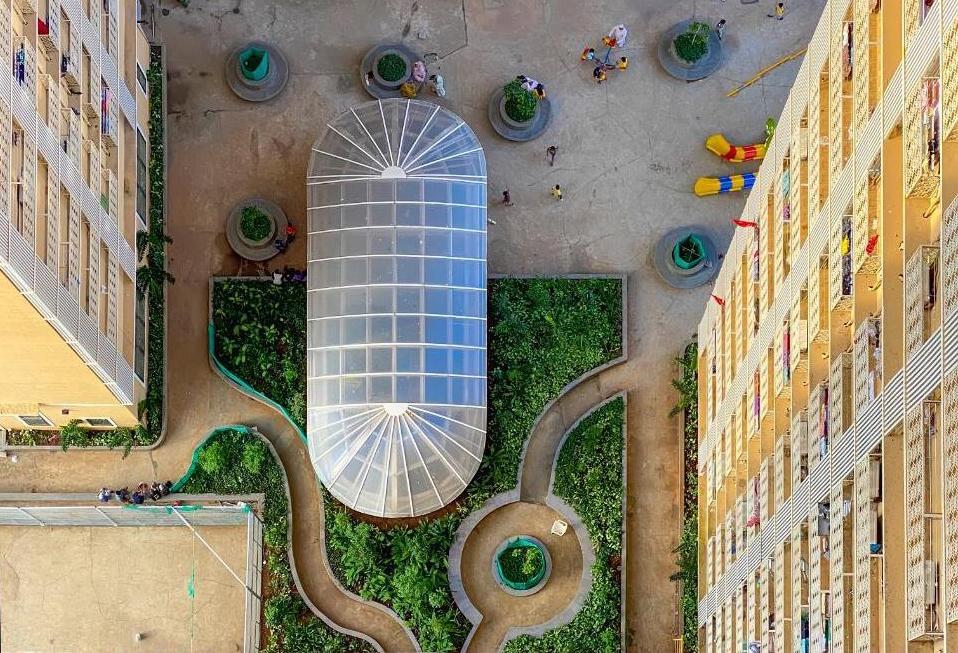 Al-Saada Bird's eye view